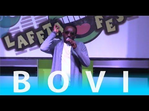 BOVI LATEST 2017 COMEDY PERFORMANCE | GloLaffta Fest,  Ibadan