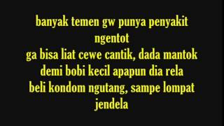ECKO SHOW   Orasi  Omongan Rapper Sakit Hati  With Lyrics By Badmel