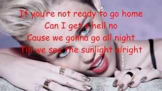 Miley Cyrus We Can't Stop Lyrics