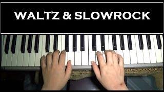 Hướng dẫn đệm hát Waltz (Valse), Slowrock đơn giản | Piano Tutorial | Bội Ngọc Piano