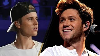 Justin Bieber RECORDING with Niall Horan to Benefit California Wildfire Victims!?