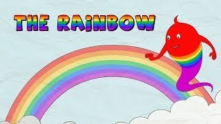 How a Rainbow is formed - The Rainbow - Lesson for kids