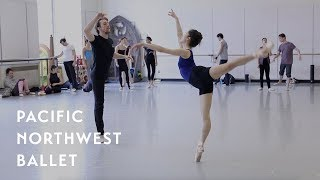 The Perpetual State rehearsal - ft. Leta Biasucci (Pacific Northwest Ballet)
