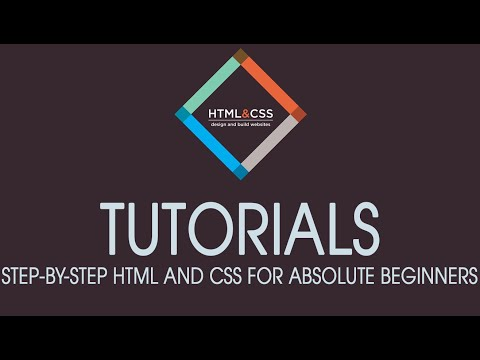 chapter 1 - Creating HTML and CSS files
