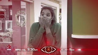 Freeze Task Continues!!! Time to surprise Hari Teja & others 😉  #BiggBossTelugu Today at 9:30 PM