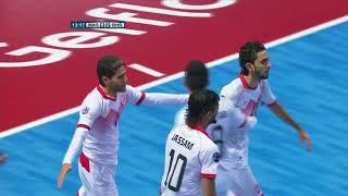Malaysia 1-3 Bahrain (AFC Futsal Championship 2018: Group Stage)