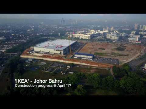IKEA - Tebrau, Johor Bahru (progress @ April '17)