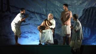 Premiere of Soumitro Chatterjee's play Boshtomi at Indian Museum