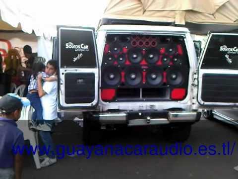 Machito Sound Car Boutique Expo Show Centro Italo Venezolano de Guayana