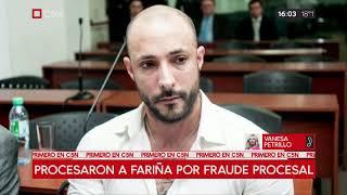Procesaron A Fariña Por Fraude Procesal