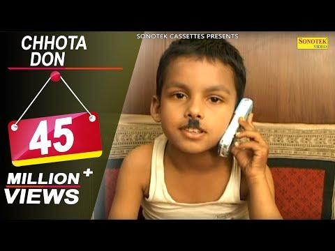Chhota Don Kids Movie Full Comedy Cute Acting | Haryanvi Kids Comedy | Sonotek New Comedy