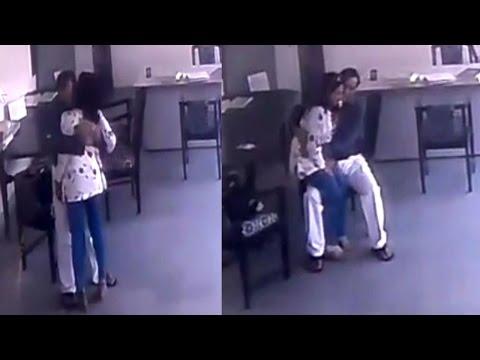 स्कूल में टीचर के साथ ऐसे रोमांस कर रहा था डायरेक्टर, Video वायरल