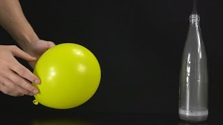 How To Make a Flying Balloon Without Helium - Cool Science Experiments