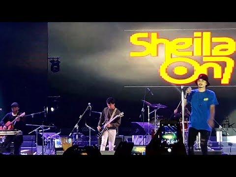 Sheila on7 - Karna Aku setia | Konser Di Jakarta fair 2018 - JIExpo Kemayoran