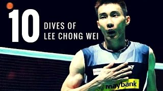 TOP 10 BEST DIVES OF LEE CHONG WEI