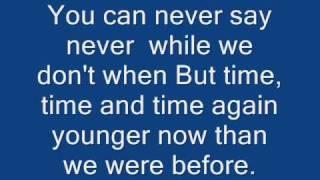 The Fray- Never Say Never Lyrics