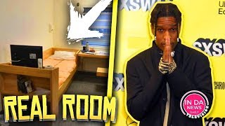 ASAP Rocky's Current Holding Cell Revealed in Sweden *U Need to See This*