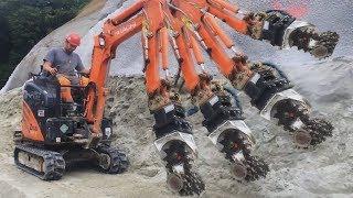 Dangerous Biggest Monster Construction Machine Destroy Everything - Heavy Equipment Fastest Machines