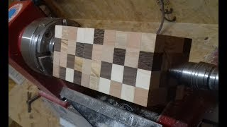 Woodturning - The Minecraft Vase