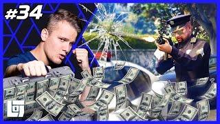 GTA Popo Escape met Ronald | Solo Challenge | LOGNL #34