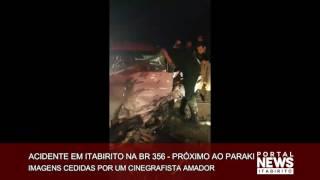 Acidente em Itabirito MG - Próximo ao Paraki