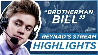 Hearthstone: Reynad Stream Highlights - Brotherman Bill