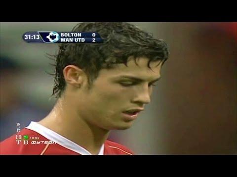 Cristiano Ronaldo Vs Bolton Away 06-07 By zBorges