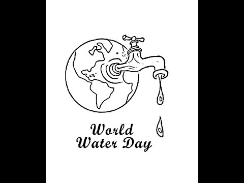 Xxx Mp4 How To Draw World Water Day Cartoon Drawing Step By Step 3gp Sex