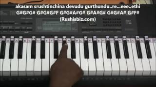 Anjali Anjali Anjali Title Song (Piano Tutorials)