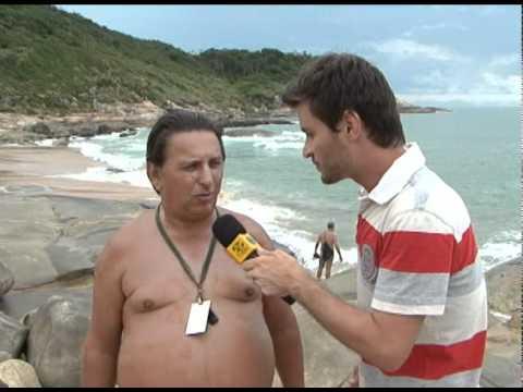 PRAIA DO PINHO NUDISMO EM SANTA CATARINA