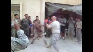Iraq VS U.S. Boxing Bout 5