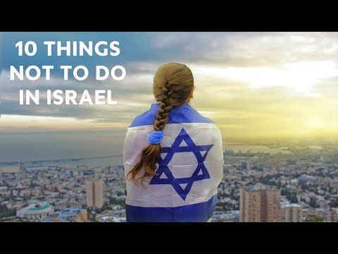 Xxx Mp4 10 Things NOT To Do In Israel 3gp Sex