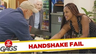 Super Glue Handshake Prank
