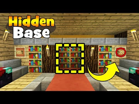 Minecraft Tutorial: How To Make A Secret Library Base
