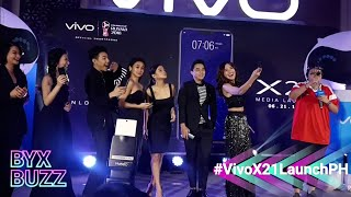 McCoy De Leon, Maris Racal, Darren, Julie Anne San Jose nag-bonding sa #VivoX21LaunchPH