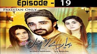 Pyarey Afzal Ep 19 - ARY Zindagi Drama