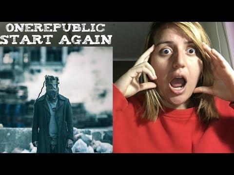 OneRepublic - Start Again ft Logic (Official Music Video) Reaction