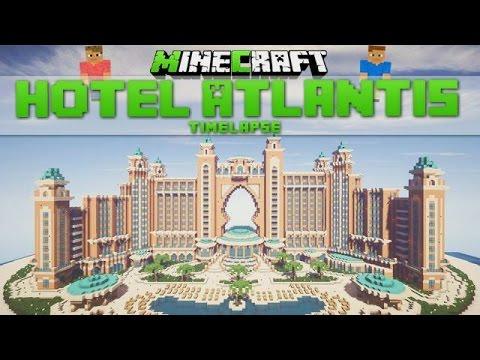 Minecraft Timelapse - Hotel Atlantis (Dubai) [Download]