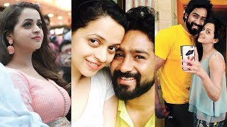 Actress Bhavana After Engagement - Video