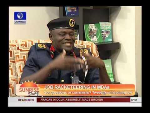 Employment Scam Can t Happen In Civil Defence Lagos Commandant Part 3
