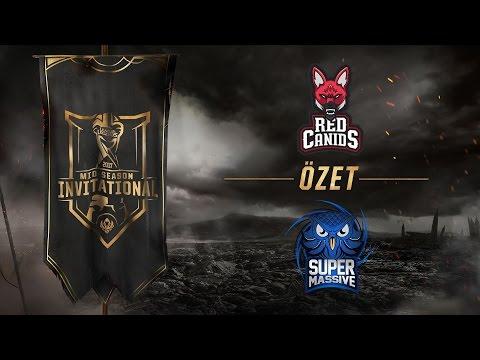 Red Canids ( RED ) vs SuperMassive eSports ( SUP ) Maç Özeti   MSI 2017 Ön Eleme 3. gün