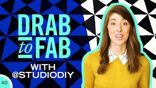Drab to Fab with Studio DIY & Ethan Allen | Disney Style