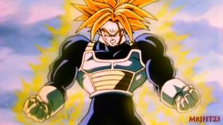 Trunks Powers Up To Super Trunks HD)