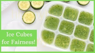 Cucumber Ice Cube Toner | Ice Cube For Fairness
