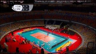 CUB vs JPN 2017 FIVB Men