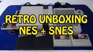 Retro unboxing épico :: NES + SNES :: HD 1080p