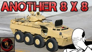 PARS 8X8 Infantry Fighting Vehicle - ANOTHER WHEELED APC!!