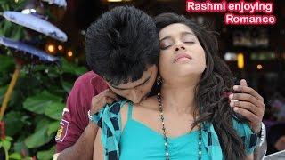 Rashmi Gautham Enjoying Her Romance | Rashmi Gautham hot navel