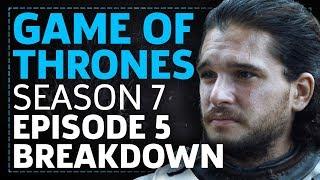 Game Of Thrones Season 7 Episode 5 Eastwatch Breakdown!
