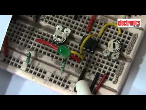 Simple Water Temperature Indicator Circuit